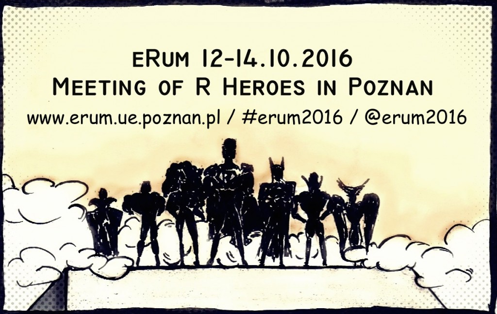 Call for Papers: eRum 2016 (European R users meeting)